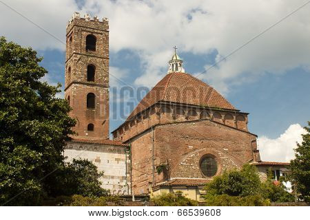Baptistery and the church of San Giovanni e Reparata, Lucca Italy