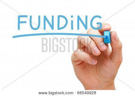 Funding Blue Marker