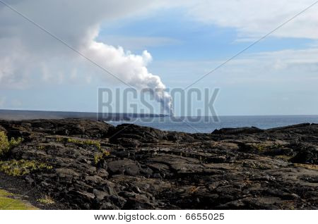 Big Island Kilauea Volcanoe