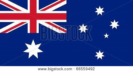National flag of Australia, Authentic version