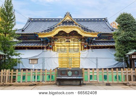 Toshogu Shrine in Tokyo