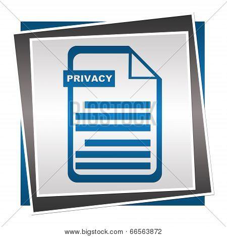 Privacy Policy Blue Square