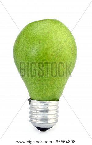 Green Pear-eco Bulb