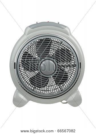 Compact electric fan