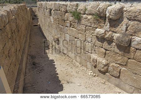 Ruins of ancient Roman stadium