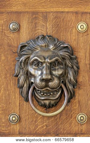 Lion's Head, Door Knocker.