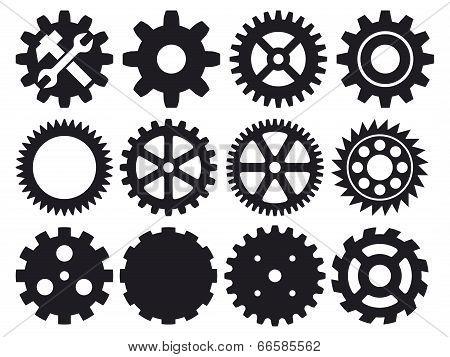 gear collection -  machine gear