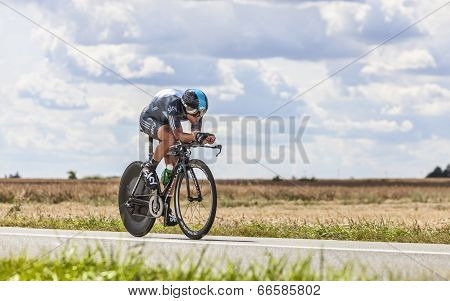 The Cyclist Richie Porte