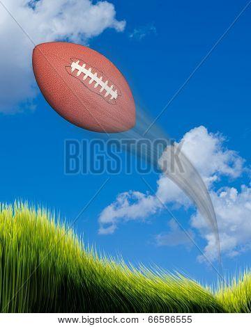 Football In Flight.