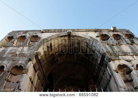 The Arch Of Janus, Rome, Italy