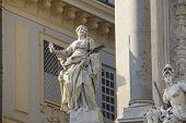 stock photo of torino  - Statues in Torino - JPG
