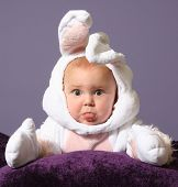 image of baby easter  - Easter Baby - JPG