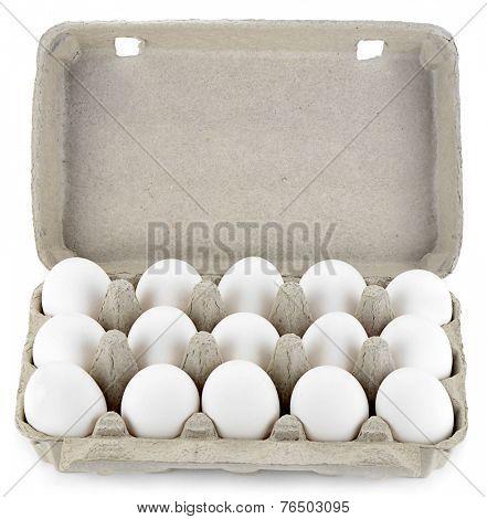 Pack of White Eggs