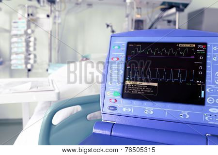 Monitor Intra-aortic Counterpulsation Device Against The Icu.