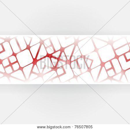 Geometric Pattern Banner