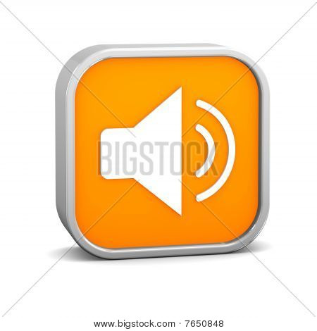 Orange Enable Audio Sign