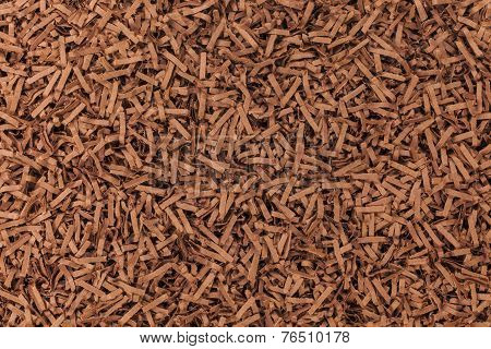 Stripes of brown paper mixed abstract background