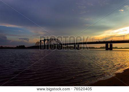 bridge over dvina
