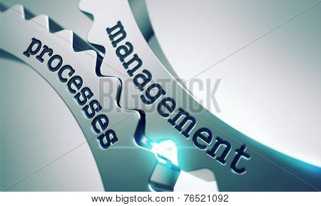 Management Process on the Gears.