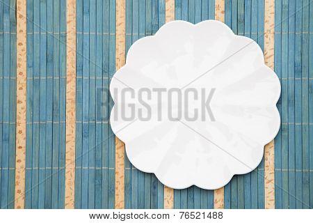 White Porcelain Plate