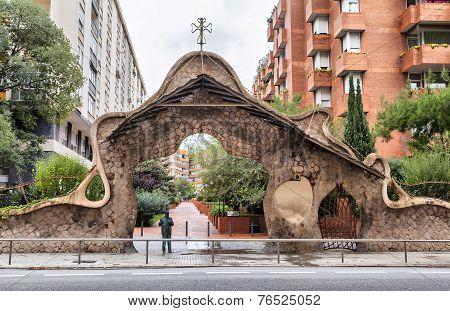 Miralles Gate (finca Miralles) In Barcelona