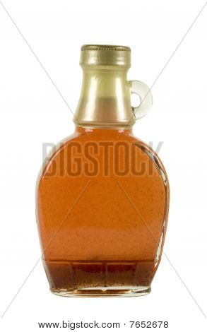 Syrup In Glass Bottle