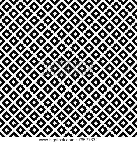 Black And White Diagonal Squares Tiles Pattern Repeat Background
