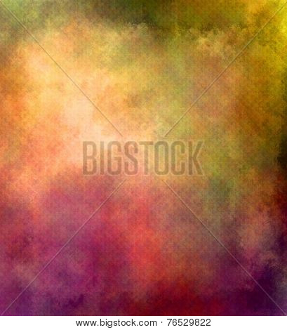 Colorful Textured Background - Grunge Style