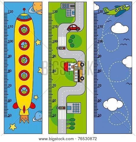Bumper children meter wall