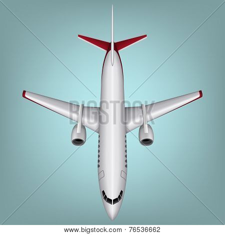 Vector illustration of airplanes