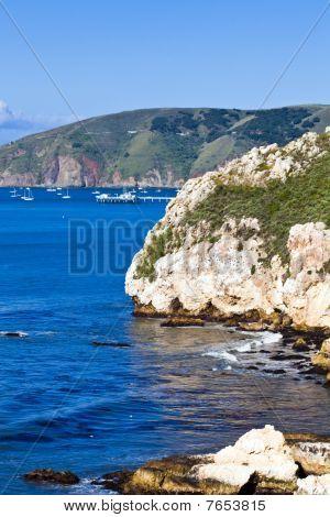 Avila Bay Cliffs And Port San Luis V