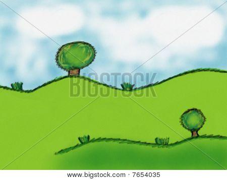 grün hintergrund