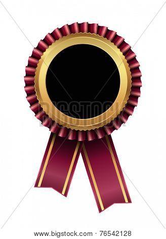 award label tag icon with ribbon