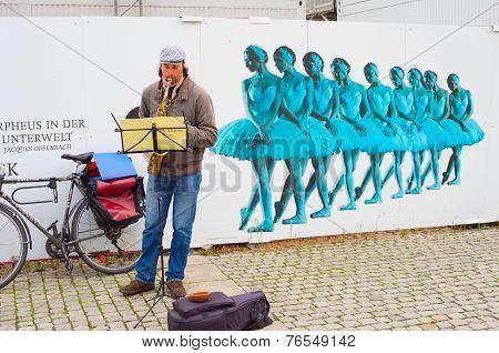 Busker, Berlin