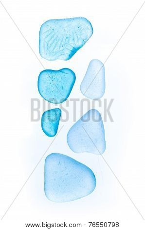 Beautiful stones, sea-glass, sea glass