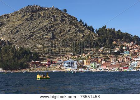 Copacabana at Lake Titicaca in Bolivia