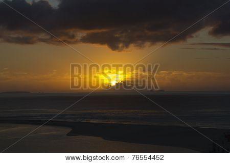 Por Do Sol entre as Berlengas