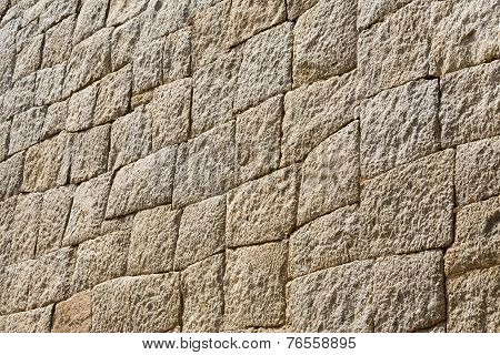 Stone Wall In Mycenae