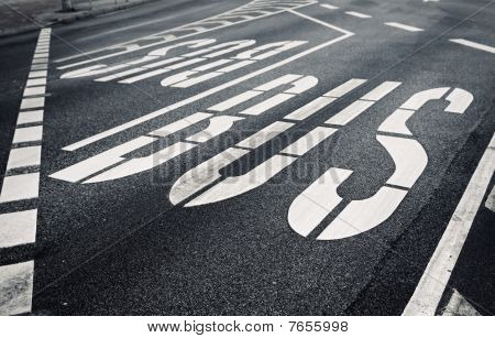 City Bulevard With Traffic Designation
