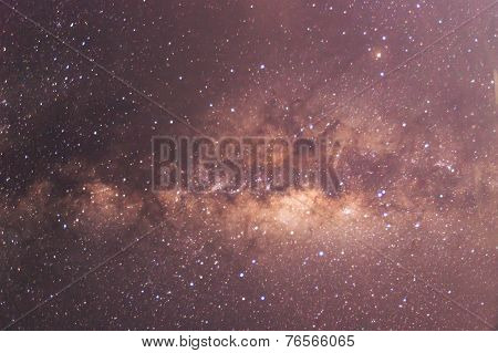 The Panorama Of Milky Way.
