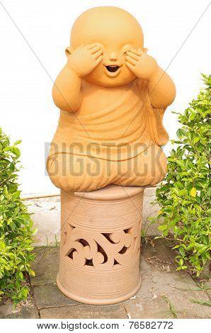 Baby Buddha depicting