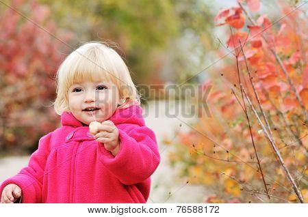 Bright Blonde Baby Girl