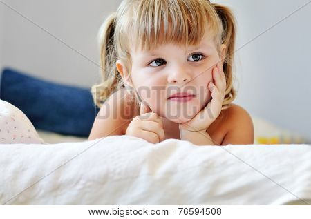 Toddler In Bed