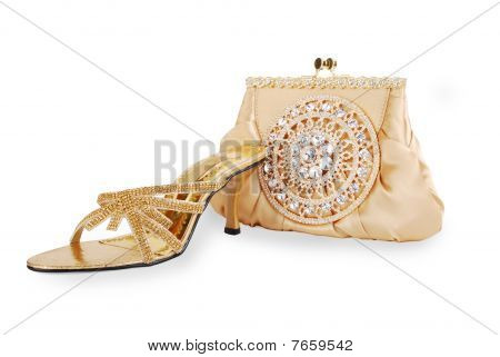 Shoes & purse