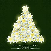 stock photo of christmas flower  - Beautiful X - JPG