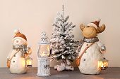 picture of fir  - Composition from New Year - JPG