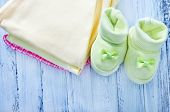 Постер, плакат: clothing for newborns