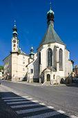 image of banska  - centrum old town Banska Stiavnica in Slovakia - JPG