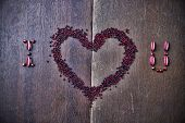 picture of orifice  - Background for Valentine - JPG