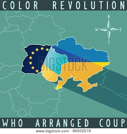 Color revolution in Ukraine